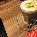 Botanical Garden SARU CAFE - 抹茶ラテ ホット