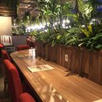 Botanical Garden SARU CAFE - カウンター席