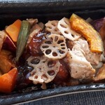 成城石井 - 7種野菜の鶏黒酢あんかけ