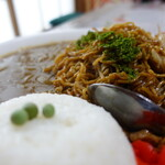 140288225 - Aセット(カレー、ライス、焼きそば+スープ)¥650税込み