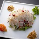 Col Bleu - 鮮魚のカルパッチョ中華風