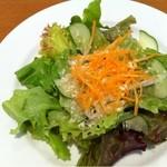 Siuil a Run - ランチセットのサラダ