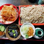 14029579 - めん(もり)付 天丼(蕎麦・丼物とも大盛り)