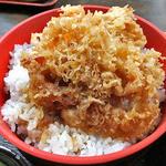 14029581 - 「めん(もり)付 天丼(蕎麦・丼物とも大盛り)」の天丼