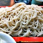 14029582 - 「めん(もり)付 天丼(蕎麦・丼物とも大盛り)」の蕎麦