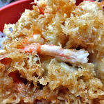 14029607 - 「めん(もり)付 天丼(蕎麦・丼物とも大盛り)」の天丼