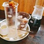 青山文庫 - アイスコーヒー 氷もコーヒーで