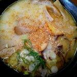 文化ラーメン - 料理写真:文化特製ラーメン:750円