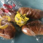 ササキパン本店 - 4個、購入 ※合計で600円(税込)