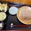 蕎麦一 - 料理写真:「えび入りミニ天丼セットのもり」1,300円税込み