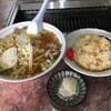 金華園 - 料理写真:ラーメン半チャーハン