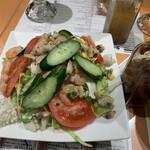 Cafe&kitchen オリエンタルSAPANA - サラダ