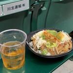 阪神甲子園球場 - 近本選手のさっぱり牛カルビ丼