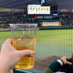 阪神甲子園球場 - ドリンク写真:ハイボールで乾杯