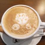 カフェ にゃお蔵 - カフェラテ‼️