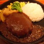 金の牛 - ハンバーグライス