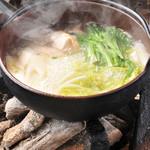 青山 鶏味座 - 東京軍鶏の水炊き
