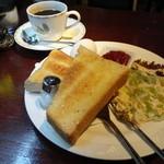 ギオン - 2012年7月再訪 トーストモーニング