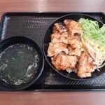 カルビ丼とスン豆腐専門店 韓丼 - 料理写真:上てっちゃん丼(820円)