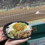 阪神甲子園球場 - 近本のさっぱり牛カルビ丼はずっしり!