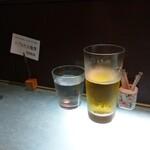 海幸楽膳 釜つる - 生ビール 700円