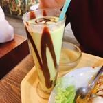 モンゴ モロ - アボカドジュース(結構チョコたっぷり☆)