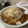 ラーメン そばよし - 料理写真:もやしラーメン(¥600)+大盛(¥100)