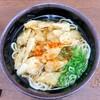 Daimaruudon - 料理写真:ごぼてんうどん(一味かけた後)