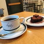 アサウラコーヒー - コーヒーとガトーショコラ