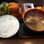 勇栄丸 - カキフライ定食