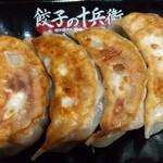餃子の十兵衛 - 定食の餃子☆