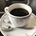 レストラン しん愛 - ホットコーヒー(食事後は半額)