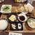 黒豚の館 - 黒豚 三味かつ定食¥1,800