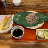 寿美久 - 料理写真:天ざるそば(¥1850)