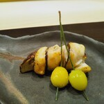 Ginzayoshizawa - 焼き物 松茸のカマス巻き