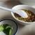 一兆 - 料理写真:スープとお新香付き
