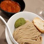 tsukemengonokamiseisakujo - 海老トマトつけ麺
