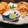 かべや - 料理写真:とうもろこしとごぼうのかき揚げ