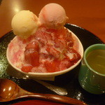羅座亜留 - イチゴ果肉たっぷりのフラッペ