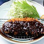 〈名古屋名物〉味噌かつランチ(ロース)