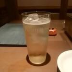 佐賀牛焼肉松藏 - 梅酒ソーダ