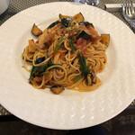 Restaurant MATIERE - 今回食したパスタ。中々濃厚な味わいです。