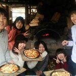 かたつむり - 料理写真:石窯ピザ焼き体験