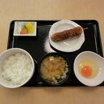 たまごや食堂やませ - 料理写真:たまごかけ定食