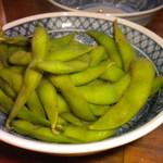 炭火焼鳥 風 - 枝豆