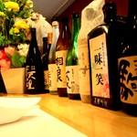一味一笑 - ワインの他に日本酒や焼酎も置いています