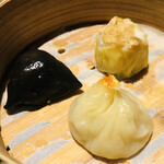 Series - 上海蟹小龍包 ポルチーニ焼売 トリュフ海老蒸し餃子