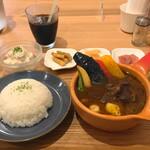 Cray pod soup curry Ohmiya Seiuemon - 平日ディナーコース(2000円)