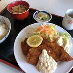 磯路 - 料理写真:魚のフライ定食