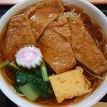 増田屋 - きつね蕎麦